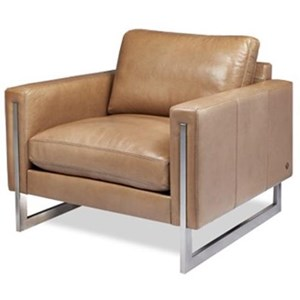 American Leather Savino Chair