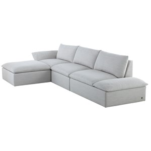 4-Piece Studio Sectional