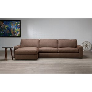 2-Piece Sectional with Right-Sitting Chaise