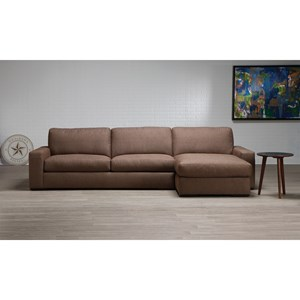 2-Piece Sectional with Left-Sitting Chaise