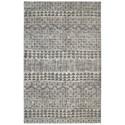 American Rug Craftsmen Berkshire 5'x8' Billerica Grey Area Rug - Item Number: 90631 90082 060096
