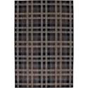"""American Rug Craftsmen Dryden 3' 6""""x5' 6"""" Billings Black Area Rug - Item Number: 90294 749 042066"""