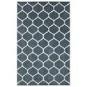 American Rug Craftsmen Nomad 10'x14' Kalispell Blue Area Rug - Item Number: 90870 50101 120168