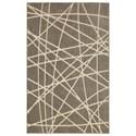 American Rug Craftsmen Nomad 5'x8' Artesia Gray Area Rug - Item Number: 90873 94011 060096