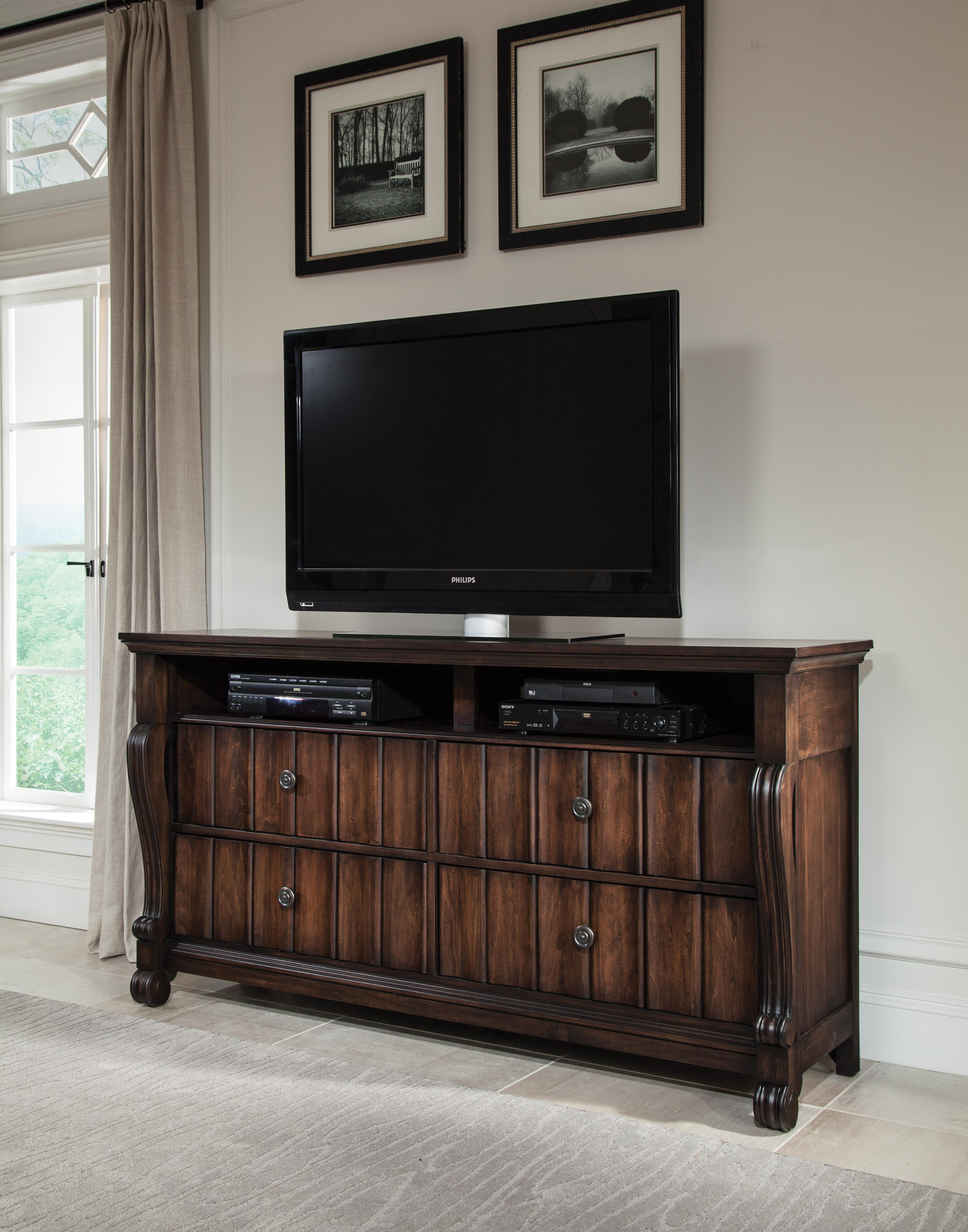American Woodcrafters AMW Specials High Society TV Stand - Item Number: 8600