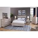 American Woodcrafters Aurora King Bedroom Group - Item Number: 2810 K Bedroom Group 1