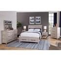 American Woodcrafters Aurora King Bedroom Group - Item Number: 2810 K Bedroom Group 2