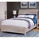 American Woodcrafters Aurora Queen Sleigh Bed - Item Number: 2810-954+882+952