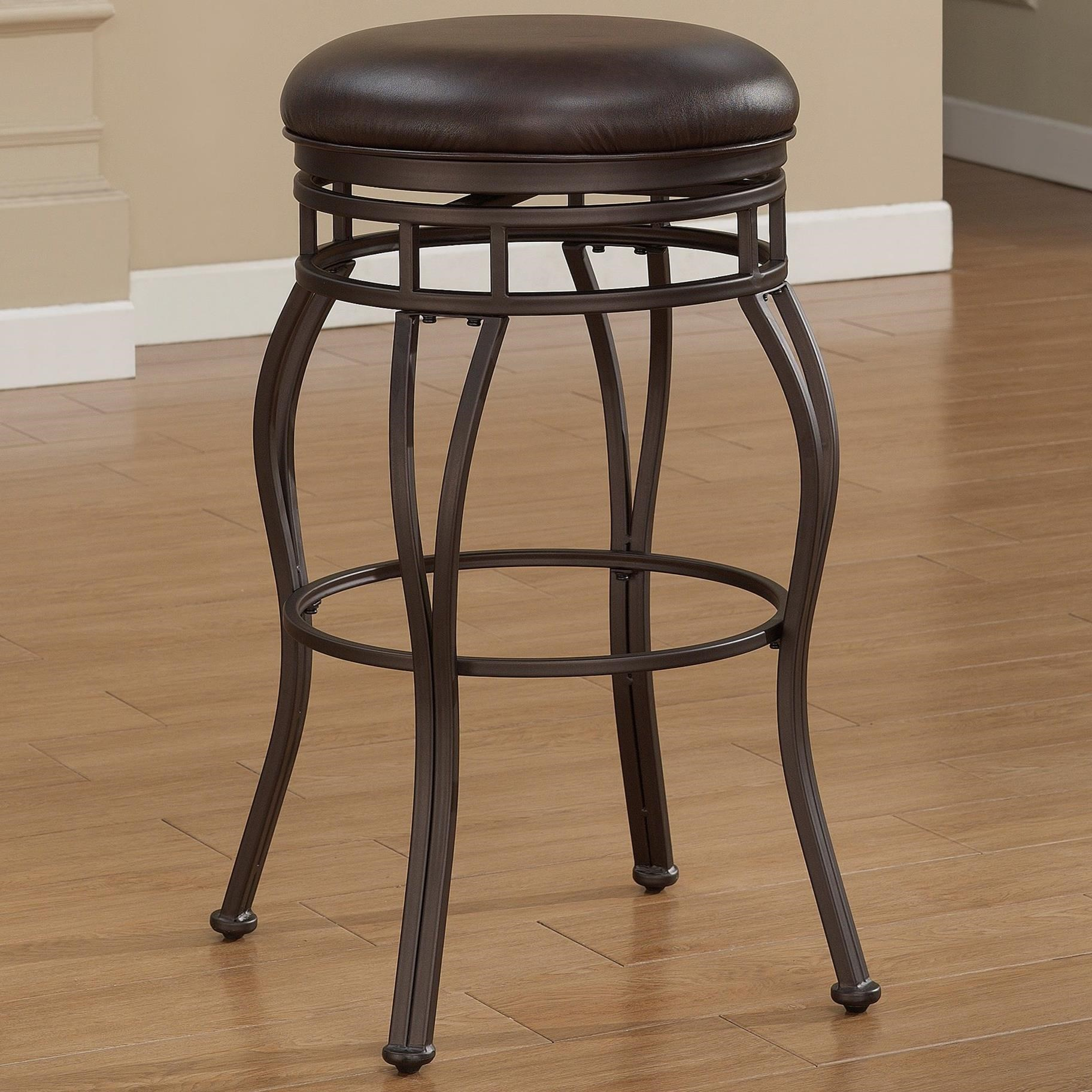 American Woodcrafters Barstools Backless Metal Stool - Item Number: B1-102-26L