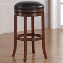 American Woodcrafters Barstools Backless Wood Stool - Item Number: B2-200-26L