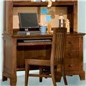 American Woodcrafters Bradford Youth Computer Desk with 3 Drawers - 82000-342