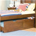 American Woodcrafters Bradford Youth Trundle Unit for Panel or Bunk Bed - 82000-906