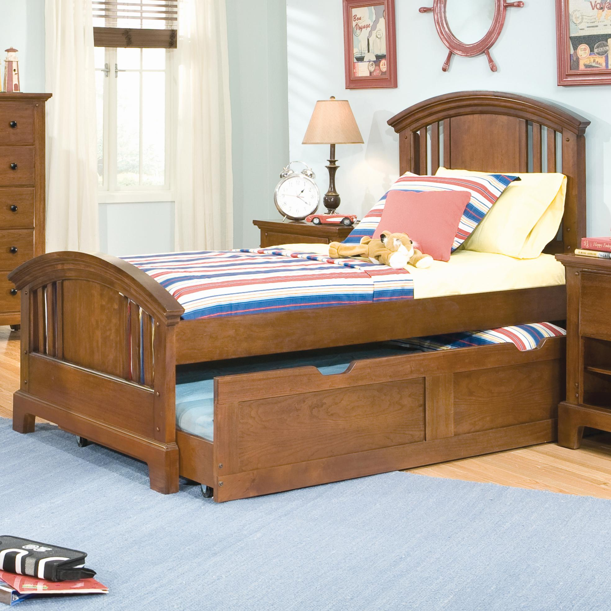 American Woodcrafters Bradford Youth Full Panel Headboard And
