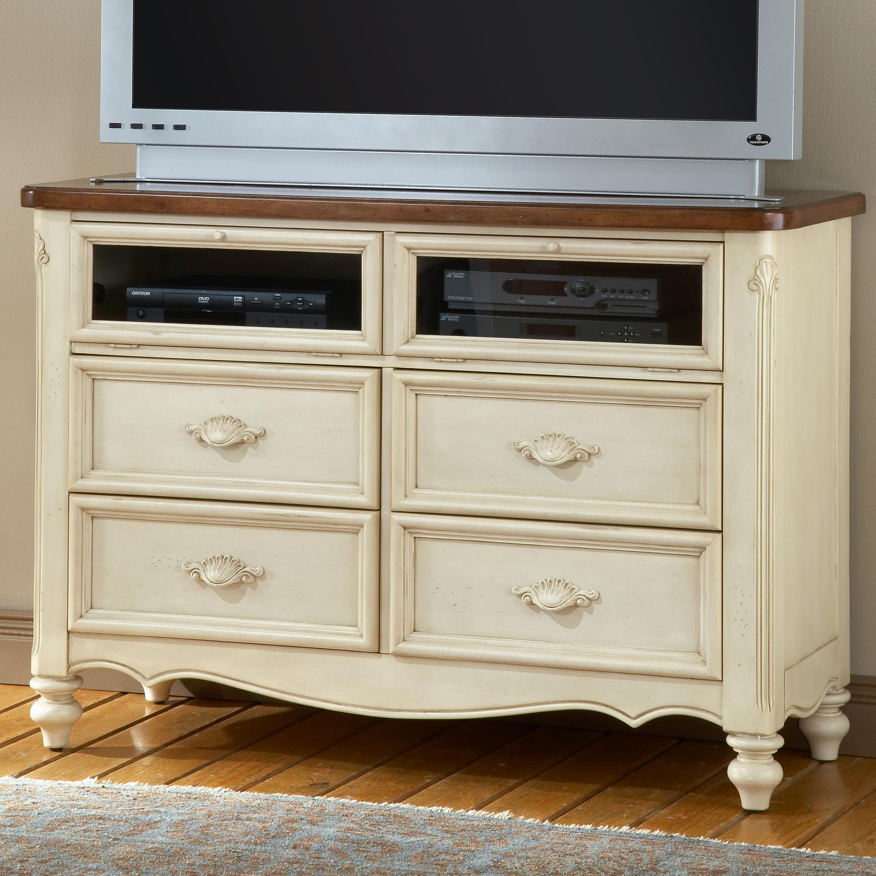 American Woodcrafters Chateau Entertainment Center - Item Number: 3501-232