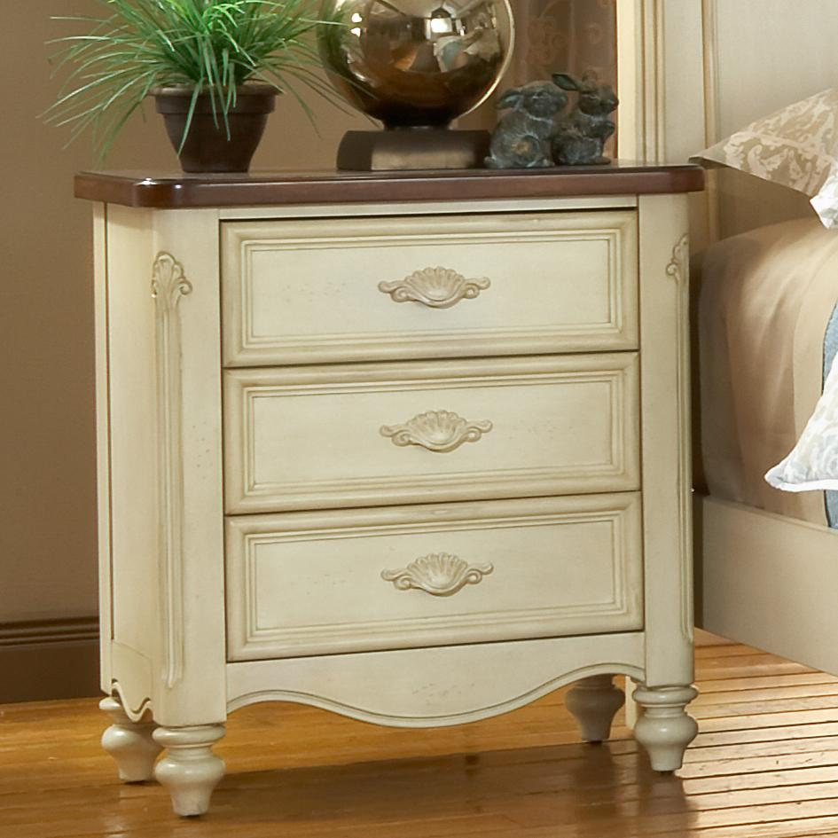 American Woodcrafters Chateau Nightstand - Item Number: 3501-430