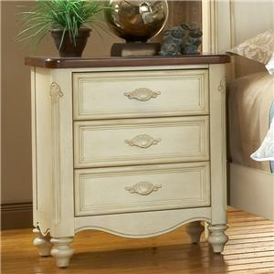 American Woodcrafters Chateau Nightstand