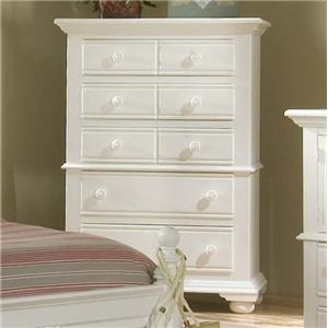 American Woodcrafters Cottage Traditions 5 Drawer Chest