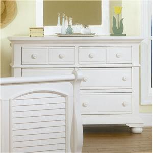 American Woodcrafters Cottage Traditions Youth Double Dresser