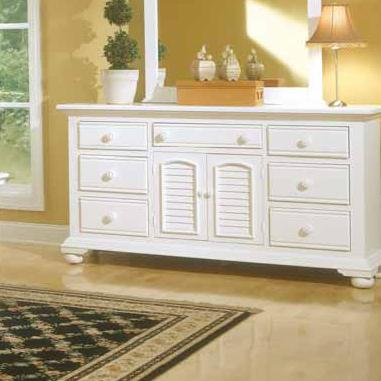 American Woodcrafters Cottage Traditions Triple Dresser - Item Number: 6510-272
