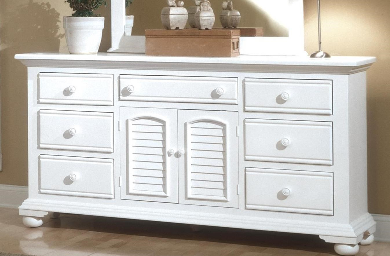 Cottage Traditions Triple Dresser by American Woodcrafters at Johnny Janosik