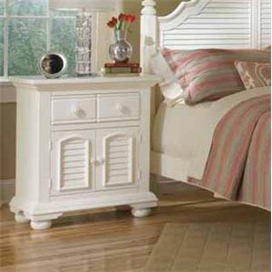 American Woodcrafters Cottage Traditions Night Stand