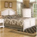 American Woodcrafters Cottage Traditions Queen Panel Bed - Item Number: 6510-957+958+882