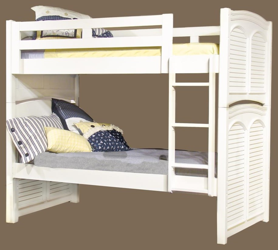 Cottage Traditions Twin Bunk Bed by American Woodcrafters at Johnny Janosik