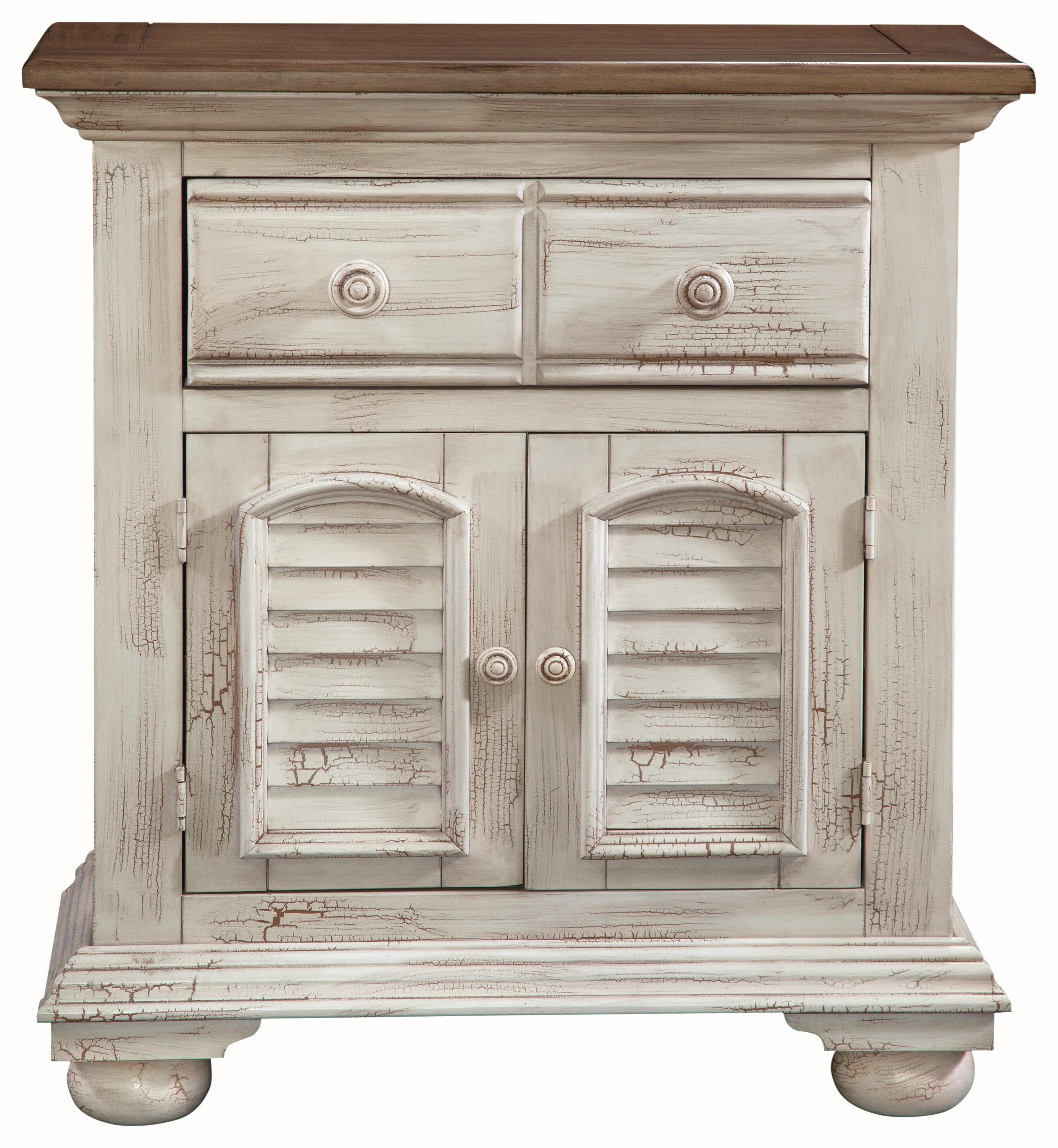 Sensational Cottage Traditions Nightstand By American Woodcrafters At Howell Furniture Best Image Libraries Counlowcountryjoecom