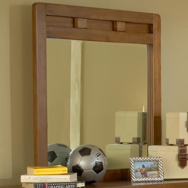 American Woodcrafters Heartland  Vertical Mirror - Item Number: 1800-030