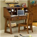 American Woodcrafters Heartland  Child's Desk w/ Hutch - 1800-343