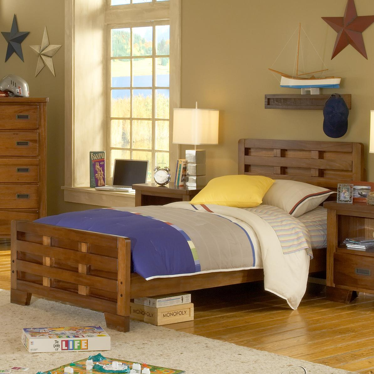 American Woodcrafters Heartland  Twin Bed - Item Number: 1800-970