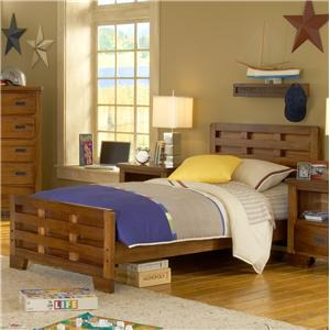 American Woodcrafters Heartland  Twin Bed