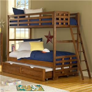 American Woodcrafters Heartland  Twin Bunk Bed