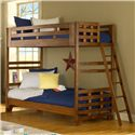American Woodcrafters Heartland  Twin Over Twin Bunk Bed - 913