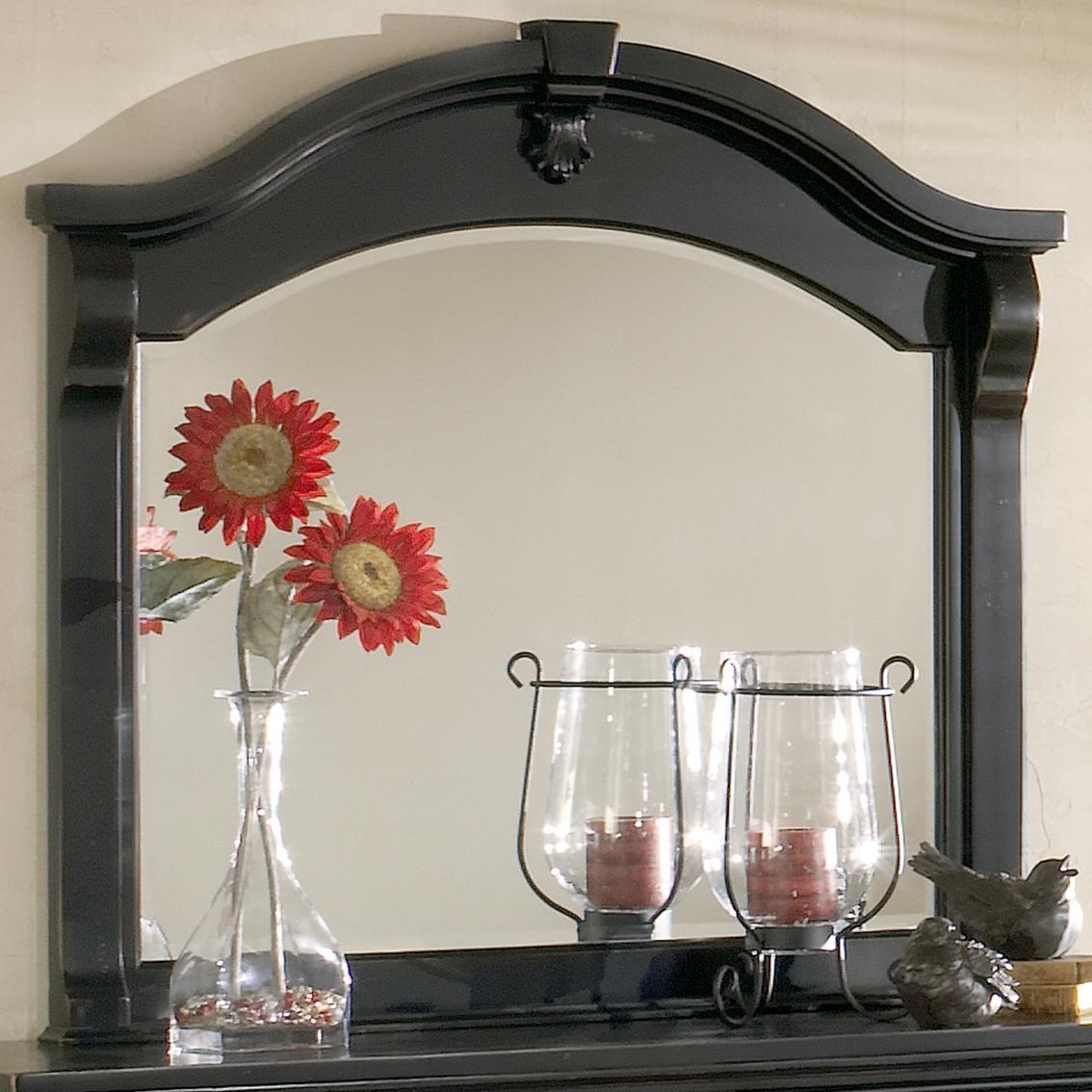 American Woodcrafters Heirloom Landscape Mirror - Item Number: 2900-040