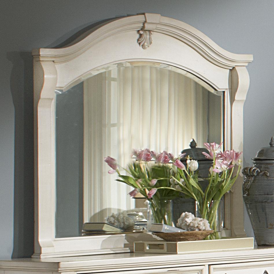 American Woodcrafters Heirloom Landscape Mirror - Item Number: 2910-040