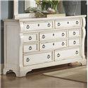 American Woodcrafters Heirloom Triple Dresser - Item Number: 2910-210