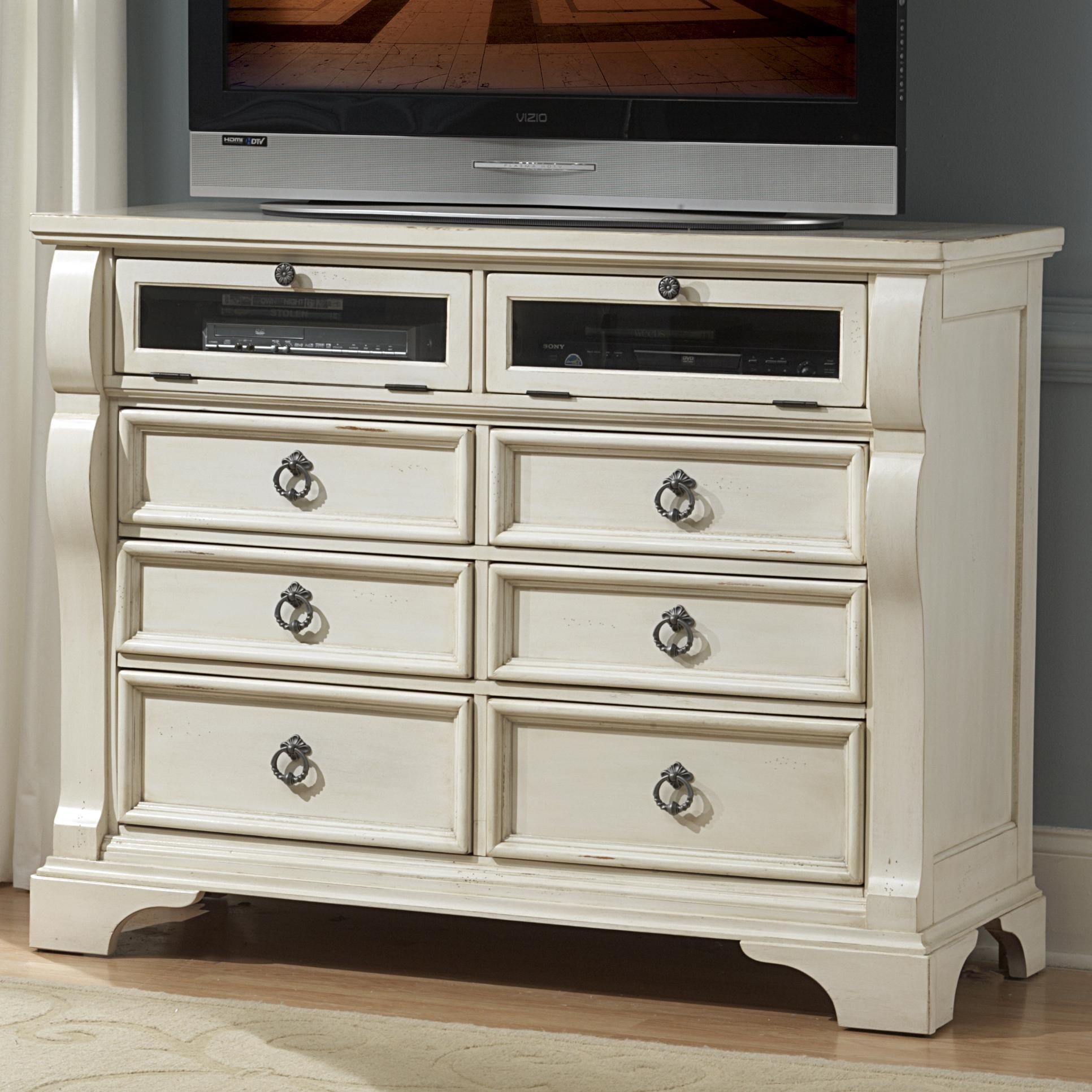 American Woodcrafters Heirloom Entertainment Chest - Item Number: 2910-232