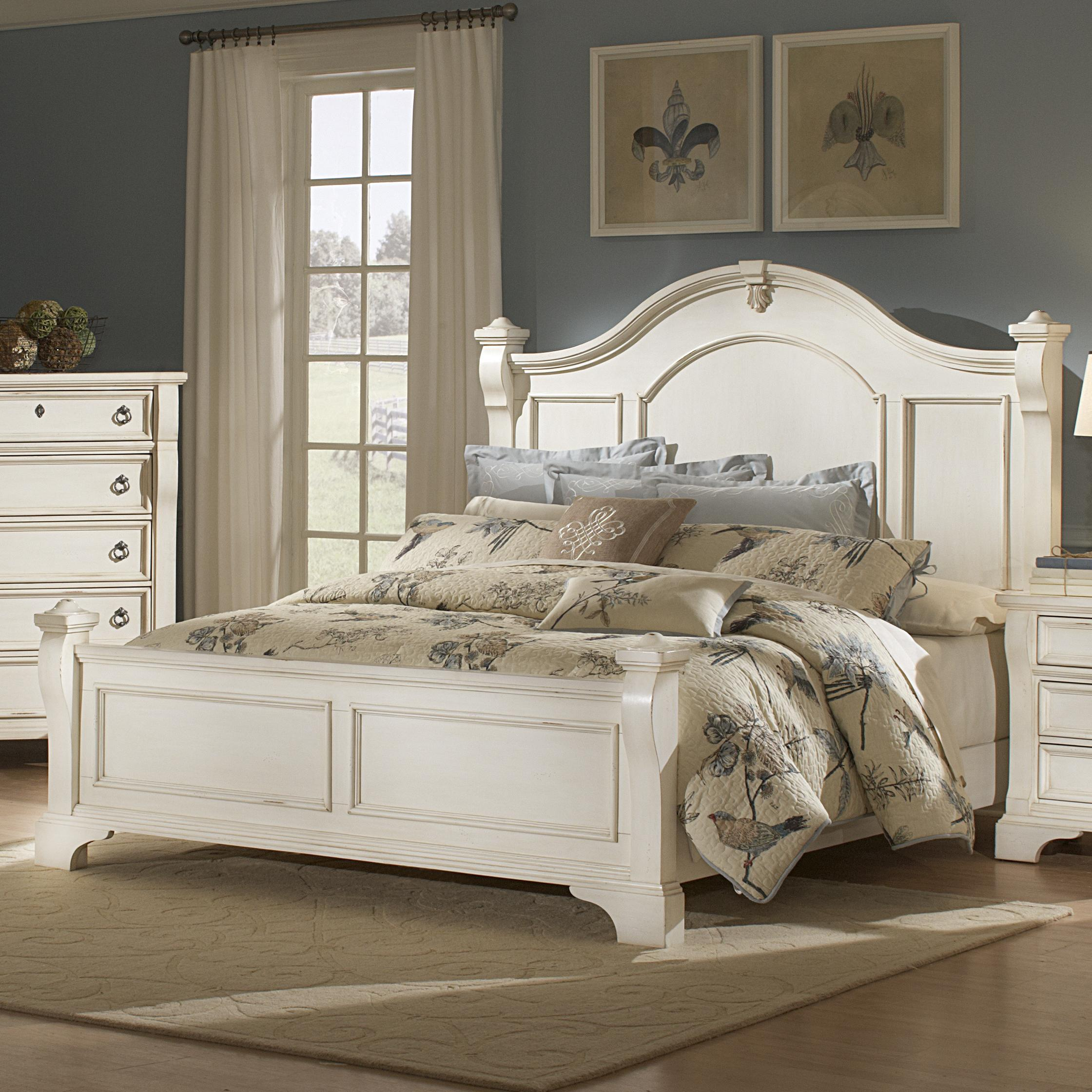 American Woodcrafters Heirloom King Poster Bed - Item Number: 2910-66POS