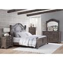 American Woodcrafters Heirloom Queen Bedroom Group - Item Number: 2975 Q Bedroom Group 1