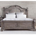 American Woodcrafters Heirloom Queen Poster Bed - Item Number: 2975-951+953+880