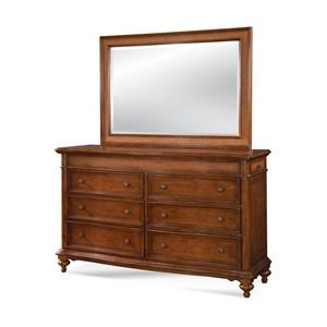 American Woodcrafters Hudson Bay Dresser