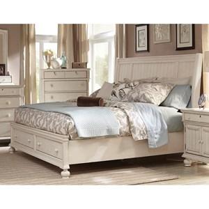 Queen Storage Sleigh Bed