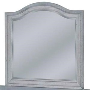 American Woodcrafters Stonebrook Landscape Mirror