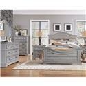 American Woodcrafters Stonebrook Stonebrook 5 Piece Queen Bedroom Group - Item Number: 7820