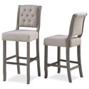American Woodcrafters Wood Frame Barstools Bar Stool - Item Number: B2-304-26F