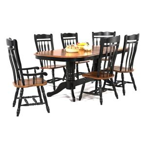 Amesbury Chair Creations II Double Pedestal Dining Table