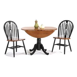 Amesbury Chair Creations II 3 Piece Table & Chair Set