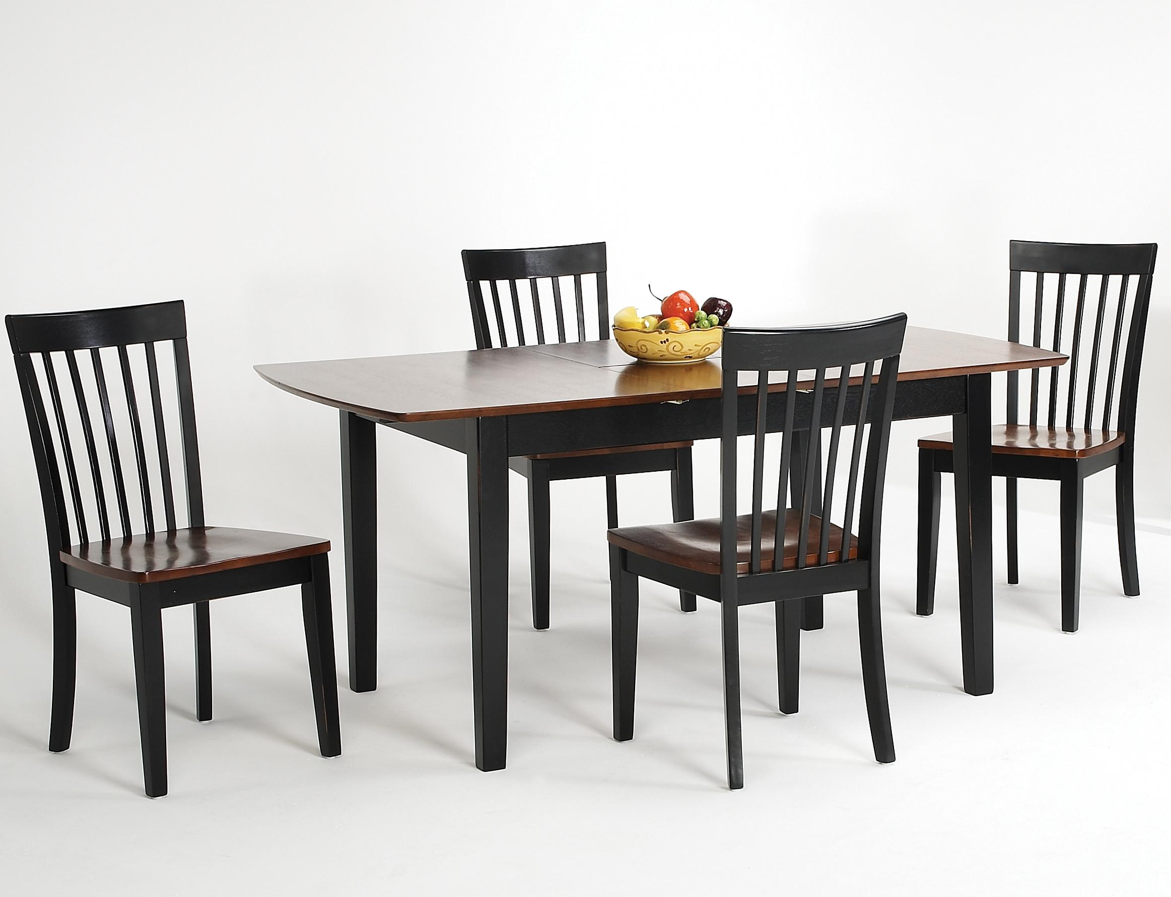 Newbury and Kensington Contemporary Dining Sets 5 Piece Table and Chair Set by Amesbury Chair at Dinette Depot