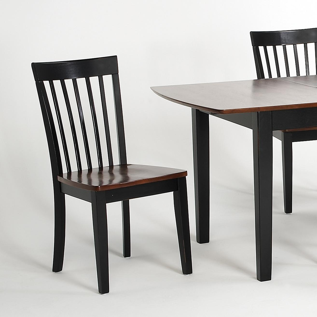 Newbury and Kensington Contemporary Dining Sets Side Chair by Amesbury Chair at Dinette Depot